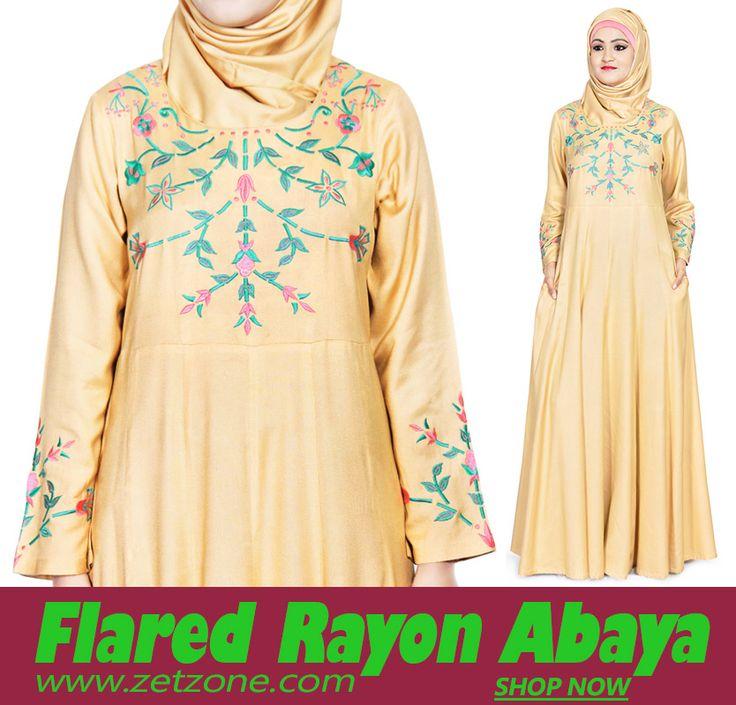 Anarkali Rayon Abaya From The House of Zet Zone   USD 46.80 Shop Now » https://www.zetzone.com/women/islamic-clothing/abaya/anarkali-rayon-abaya.html #Abaya #Jilbab #rayon #RayonAbaya #SoftAbaya #SummerWear #Islamic #Muslim #IslamicCloth #MuslimFashion #FancyAbaya #DubaiAbaya #Hijab #DesignerAbaya #AbayaMaxiDress #MaxiOnline