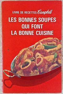 Vintage 1979. Collection. Ancien livre de recettes Campbell