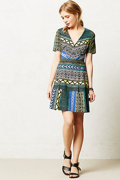 New Moon Dress from Anthropologie. Gorgeous dress for the spring and summer!