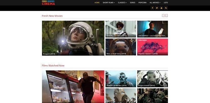 top free film streaming websites