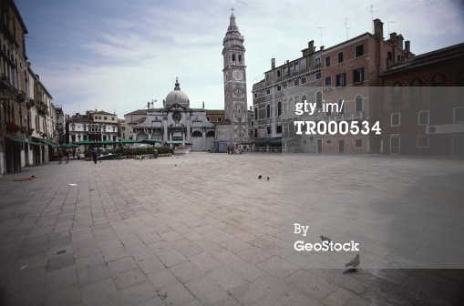 免版稅圖片:坎普聖瑪麗亞台塑意大利威尼斯