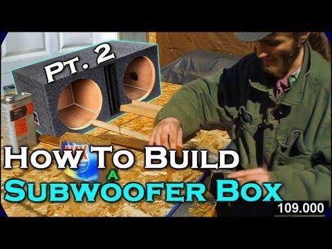 "How To Build A Subwoofer Box 2 | Beginner Car Audio Tutorial - Dual 12"" Custom Ported Sub Enclosure - http://www.thehowto.info/how-to-build-a-subwoofer-box-2-beginner-car-audio-tutorial-dual-12-custom-ported-sub-enclosure/"
