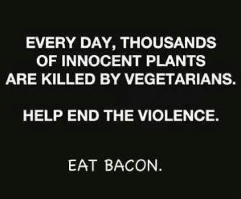 Funny Eat Bacon Joke Picture
