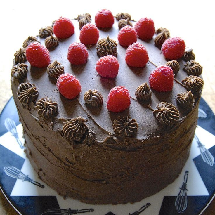Image result for chocolate raspberry mousse cake king arthur