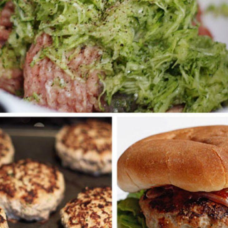 Turkey Burgers with Zucchini | Food | Pinterest