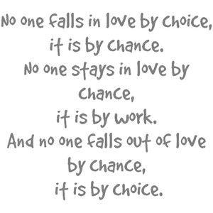chance. work. choice.