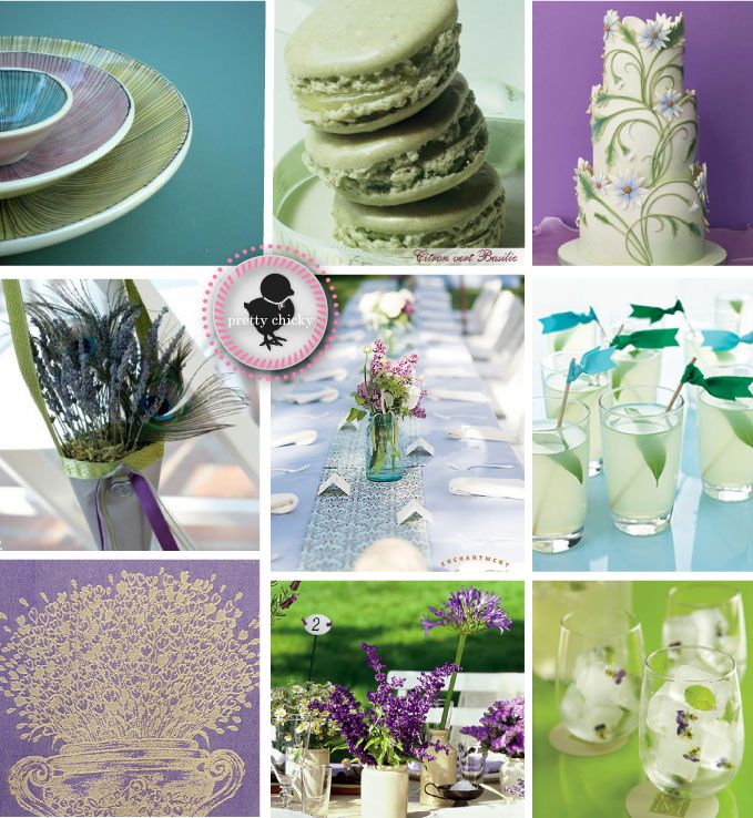 Purple And Green Wedding Ideas: 14 Best Images About Lavender And Mint Wedding On