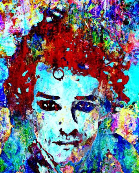 "Gustavo Cerati -  Limited Edition Inkjet Print 8""x10"". $60.00, via Etsy."