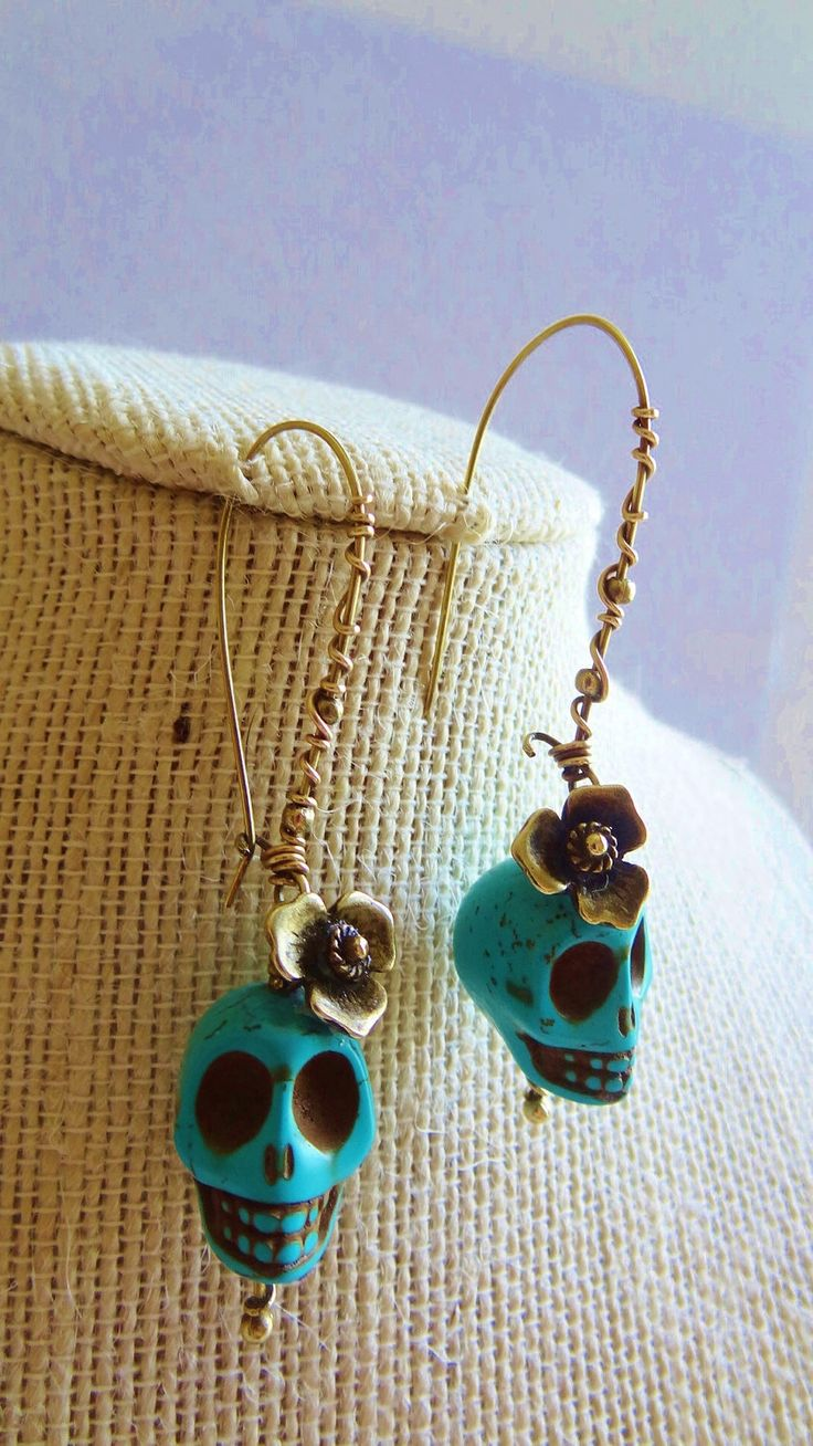 Dis De Los Muertos Earrings