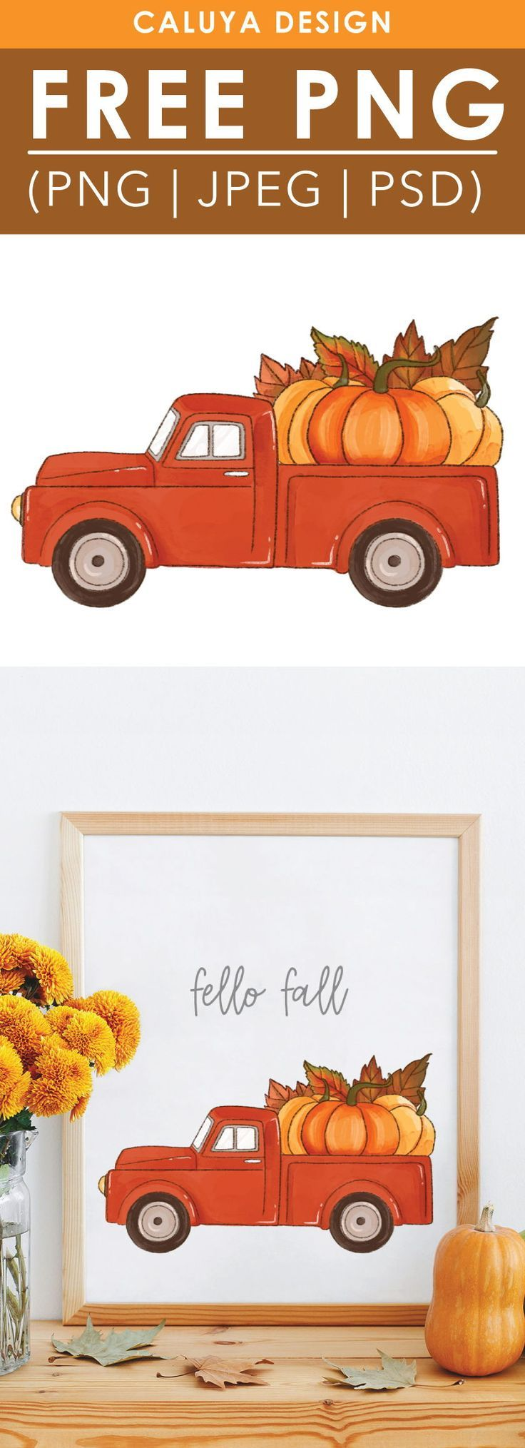 Free Truck Clipart : truck, clipart, Watercolor, Truck, Clipart,, Printable, Download., Per…, Graphic,