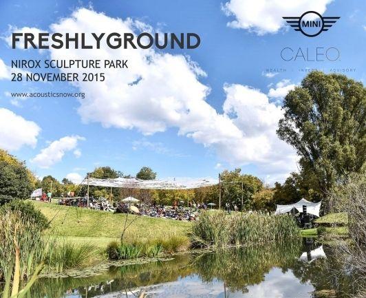 Freshlyground at Nirox - Gauteng 28 Nov 2015