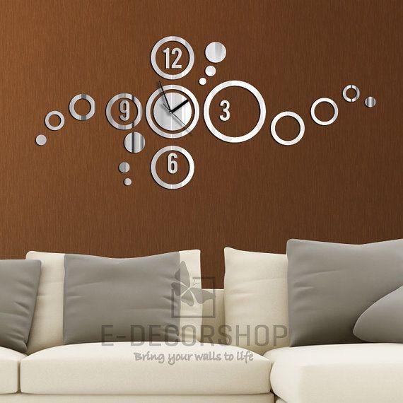 Decorative Wall Mirror Large Wall Decor Circles By