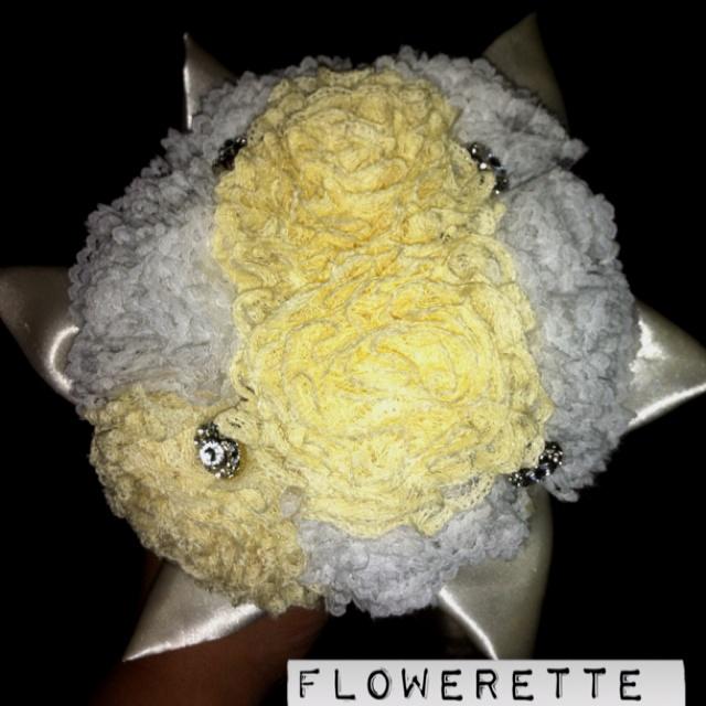 Lemon & Ice bouquet... www.facebook.com/floweretteau