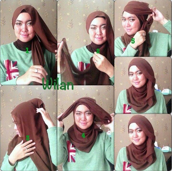Hijab tutorial #hijabtutorialbywilansari