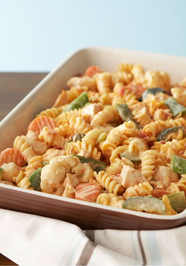 Spiral pasta recipes cheese