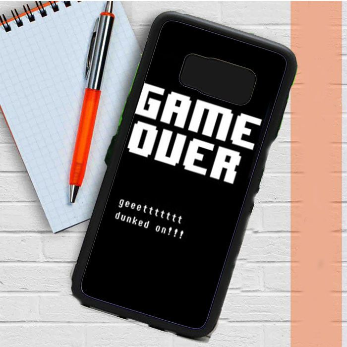 Undertale Game Over Get Dunked On Samsung Galaxy S8 Plus Case Casefreed