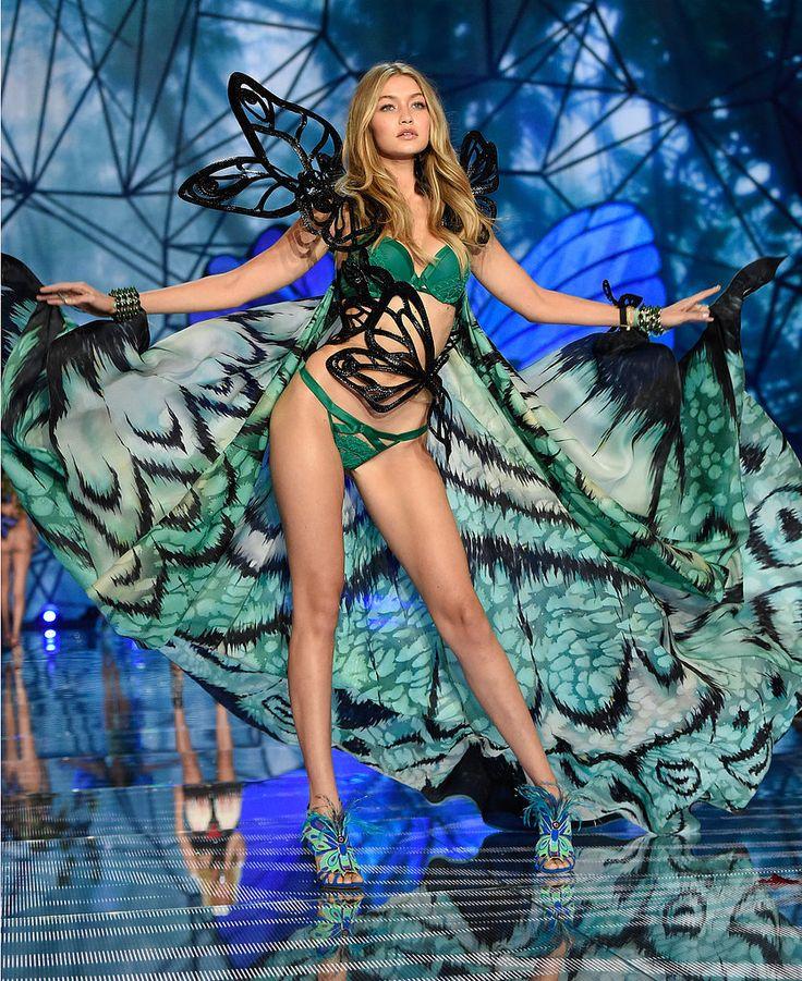 Gigi Hadid and Kendall Jenner Victoria's Secret Fashion Show | POPSUGAR Celebrity