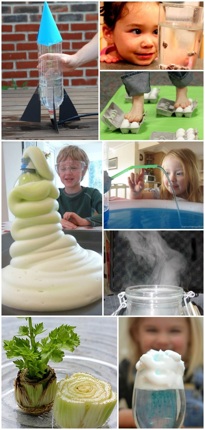 MUST TRY EXPERIMENTS! Over 25 AMAZING Science Experiments for Kids - I can't wait to try these!