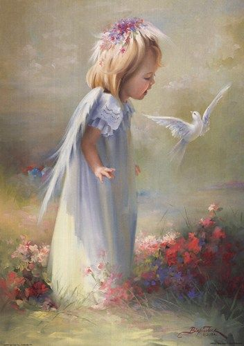 beautiful baby angel pictures | Baby Angel Artwork
