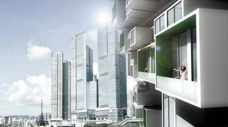 Modular Cities Jenga Tower 2