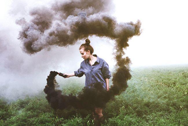 Ideas Como Usar Bombas Humo Fotografias 4