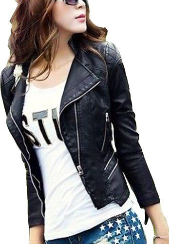 194 best Leather & Faux Leather Coats, Jackets & Vests images on ...