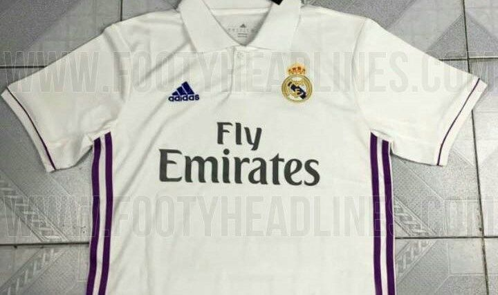 Primeras fotos de la camiseta del Real Madrid 2016/17