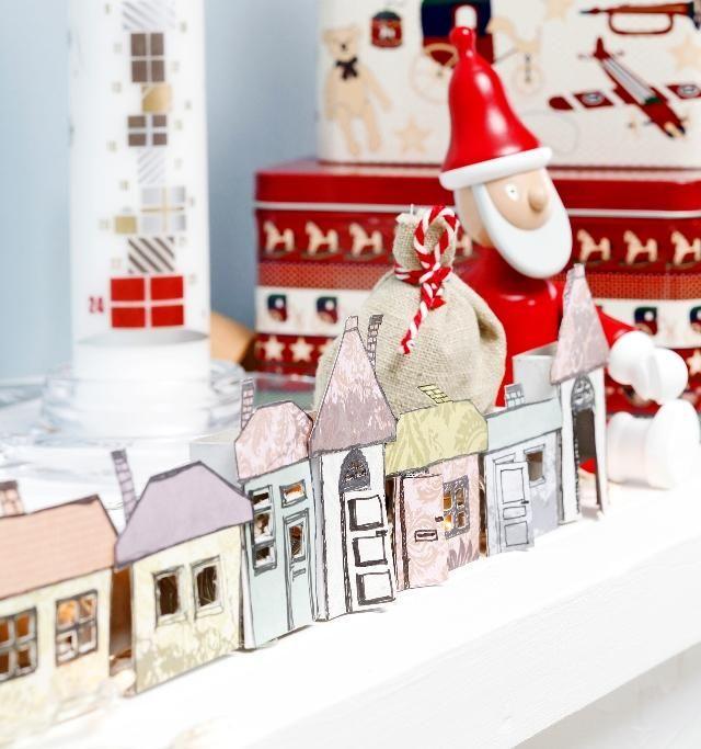 Tee kolmiulotteinen joulukalenteri. Make a 3D christmas calender.   Unelmien Talo&Koti Kuva: Joonas Vuorinen Toimittaja: Anette Nässling