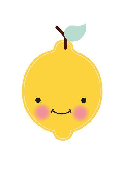 Kids room - Lemon Art Print by Eef Lillemor - society6