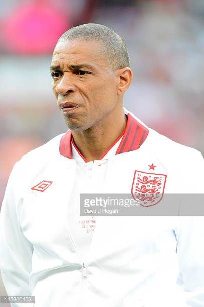 Des Walker attends Soccer Aid 2012 in aid of Unicef at Old Trafford on May 27 2012 in Manchester England
