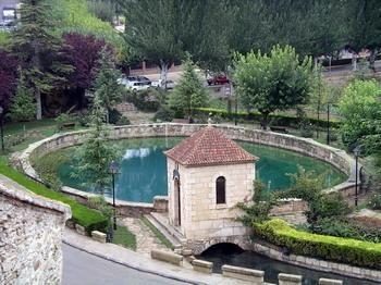 Pozo artesiano en Cella #Teruel