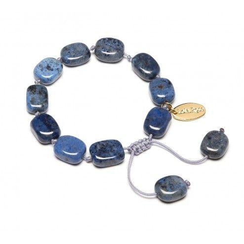 Lola Rose Kathryn Light Dumorterite Tumble Bracelet
