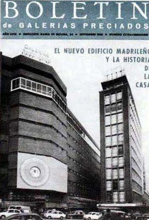 Grandes Almacenes en España 5 - Galerias Preciados