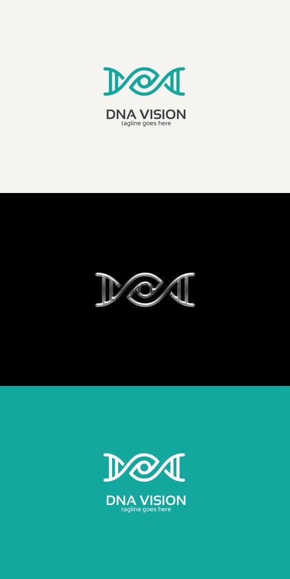 Dna Eye Logo