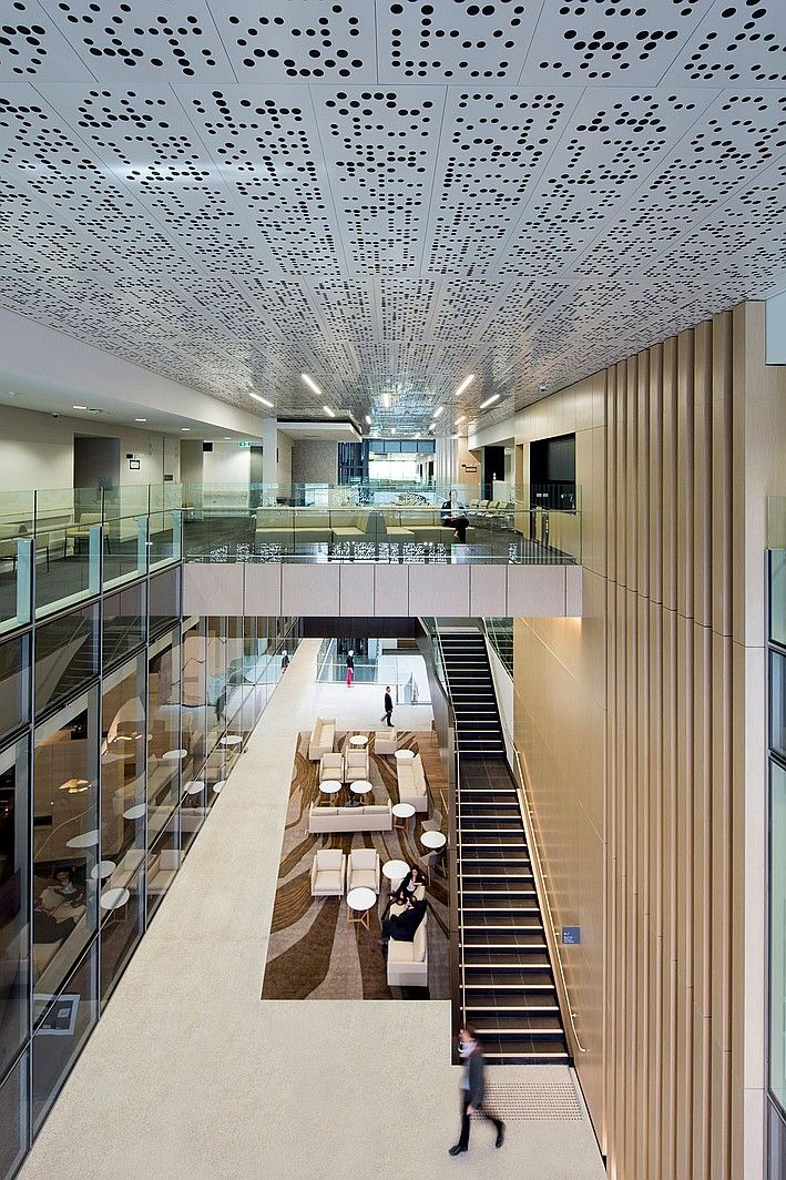 Healthcare Hospital Chris O'Brien Lifehouse, HDR Rice Daubney, Camperdown, New South Wales. #healthcare #hospital, #design