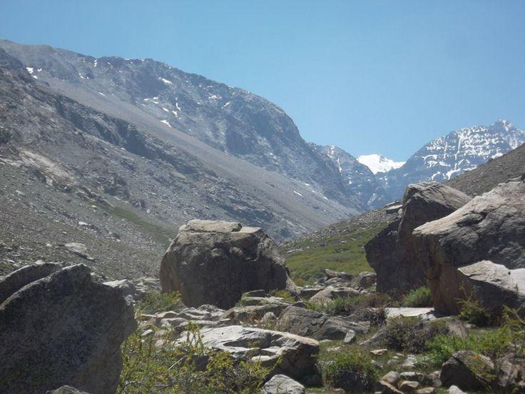 Camino Glaciar La Paloma