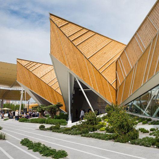 Slovenia Pavilion – Milan Expo 2015,Courtesy of SoNo Arhitekti