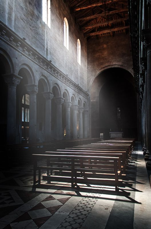 The Cathedral of San Lorenzo is the main church of the city of Viterbo. It has an imposing Romanesque structure dating from the twelfth century, although the facade, due to alterations of the sixteenth century, is presented as a structure of the Renaissance style.  by Letizia Falini (faletiz)