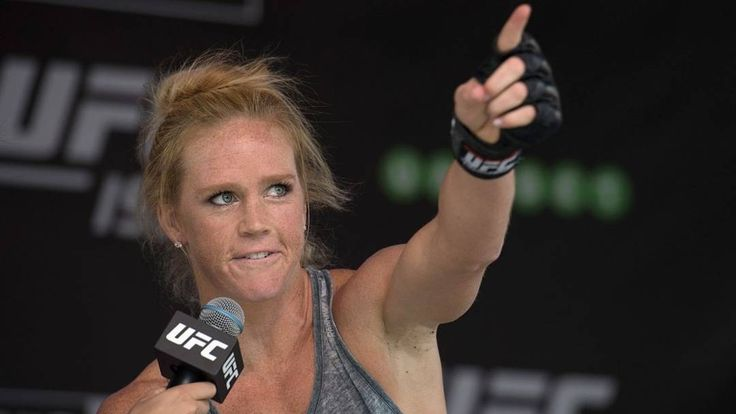 Former women's Phantom Weight Champion Holly Holm weighs in on the Floyd Mayweather versus Conor McGregor fight.  She stated : Im the type of fighter who thinks anyone has a chance Holm said on a recent edition of The MMA Hour. I came over to MMA from boxing and i felt like I had a chance. And I did. I went and I accomplished things.  If McGregor wins its going to be earlier Holm said. If it goes longer its going to be Floyd Mayweather. Anything can happen in a fight. I dont think its a…