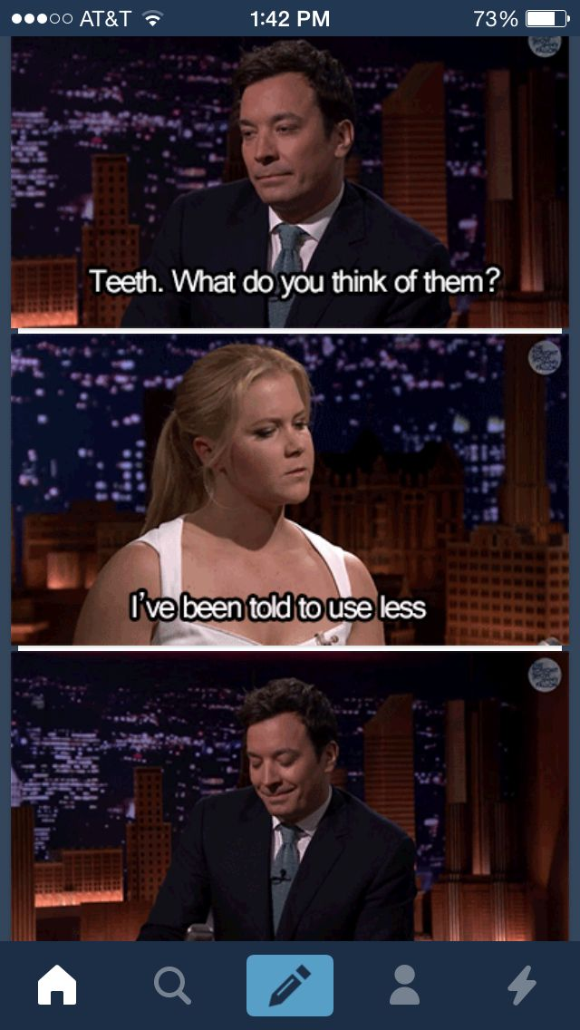 Amy Schumer on The Tonight Show with Jimmy Fallon. This was sooooo funny!!