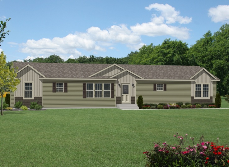 Tl606a Timberland Ranch Manufactured Home Exteriors Pinterest Home And Timberland