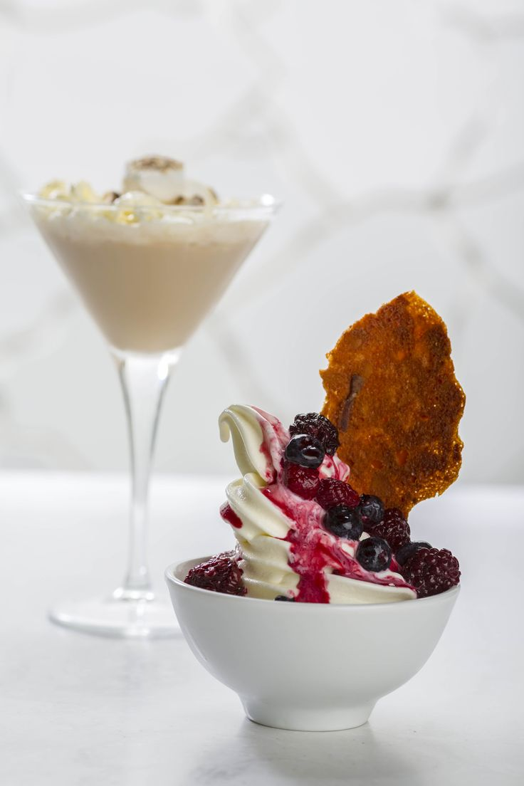 Frozen Yoghurt with a side of Cocktail
