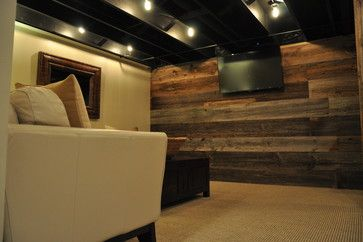 rustic basement ideas | save to ideabook email photo | rustic
