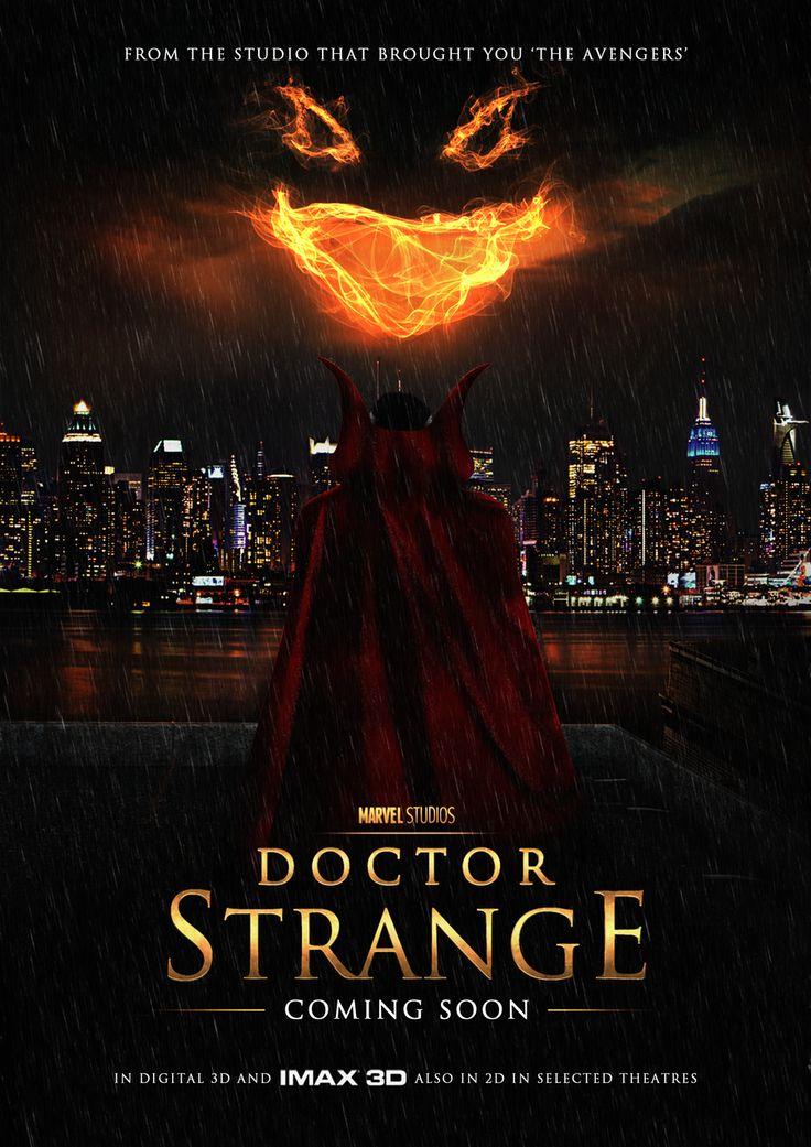 Fan made Doctor Strange 2016 Marvel Movie/TV Show