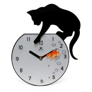 "Infinity Instruments Fisher-15"" Metal Wall Clock"
