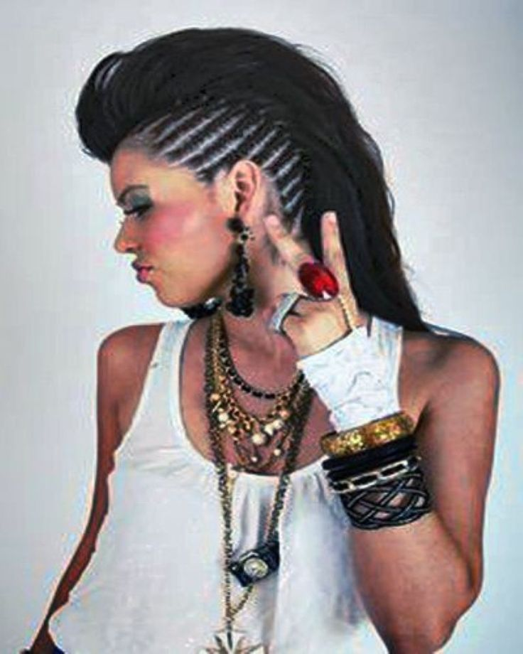 mohawk hairstyles for women -