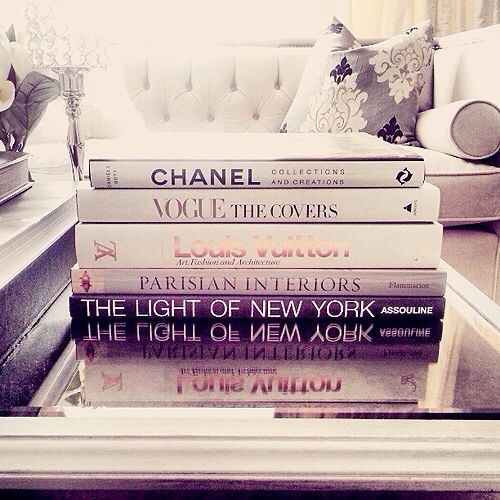 I want a few fashion books!! I have several awesome art books & now I want a few fashion books too