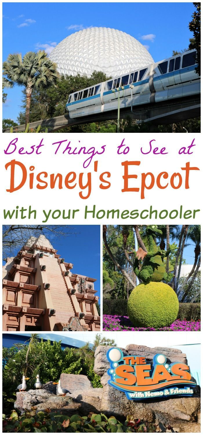 Homeschoolers can turn any trip into a great homeschool experience. Disney's Epcot is a great mix of amusement park and learning experience.