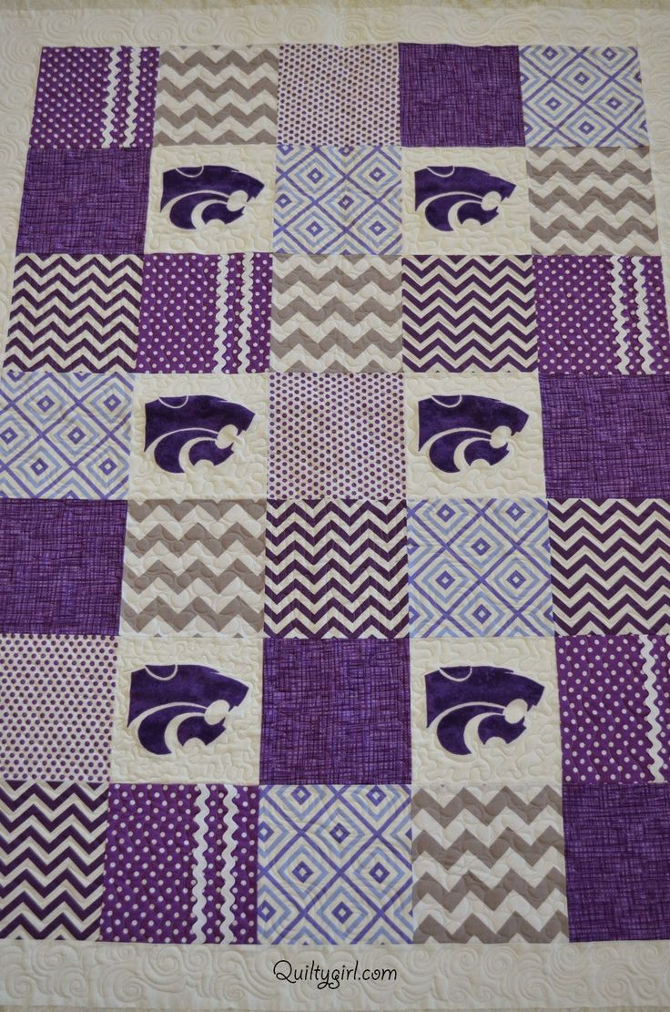 Alycia Quilts: Kansas State Quilt