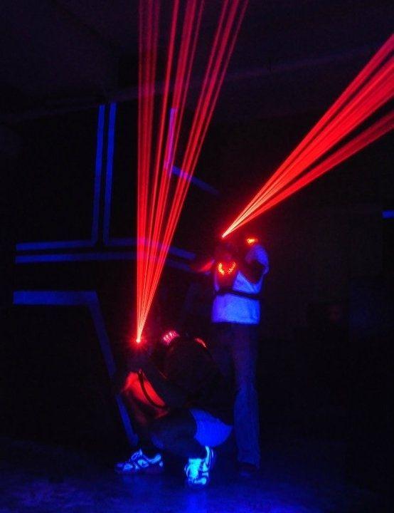 1. Play Laser Tag